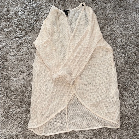 Forever 21 Sweaters - Forever 21 cream cardigan